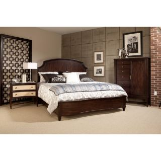 A R T Furniture Inc A.R.T. Furniture Intrigue Low Profile Panel Bed   Cola