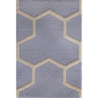 Safavieh Cambridge Light Blue / Ivory Rug CAM146A Rug Size 2 x 3