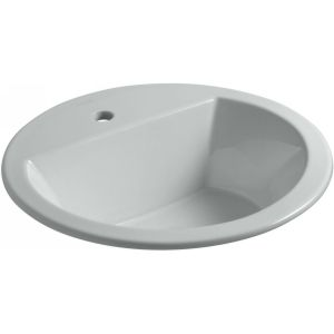 Kohler K 2714 1 95 Bryant Bryant® Round Drop In Bathroom Sink with Single Faucet