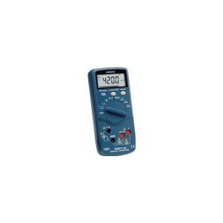 Hioki 325750 FMI Digital Multimeter with Terminal Shutter Interlock for Industrial Applications