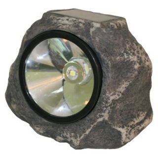 Solar Rock Light   white LED