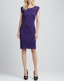 Lace Cap Sleeve Dress   Laundry by Shelli Segal