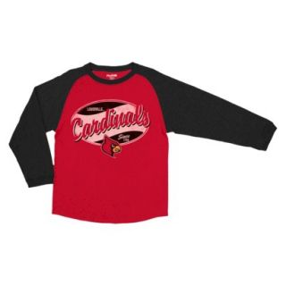 NCAA Kids Louisville T Shirt   Red (XS)