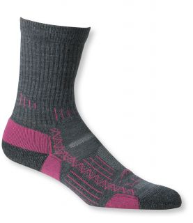 Womens Ascent Hiking Socks, Midweight Crew 2 Pack