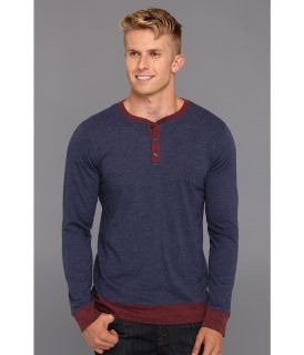 Quiksilver Mayfield L/S Shirt Mens Long Sleeve Pullover (Blue)