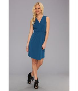 Graham and Spencer JJD3706 Stretch Jersey Dress Womens Dress (Blue)