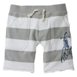 Burts Bees Baby Toddler Boys Rugby Short   Bee Fog 3T