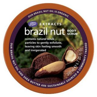 Boots Extracts Brazil Nut Body Scrub   6.7 oz