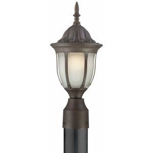 Thomas Lighting THO 190075763 Westchester Lantern post Painted Bronze