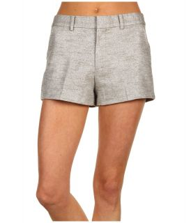 Juicy Couture Metallic Texture Short Womens Shorts (Gray)