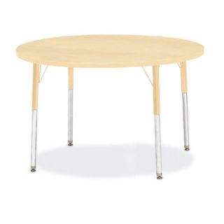 Jonti Craft Berries Round Activity Table (42 x 42) 6468JC251 Size 31 H x