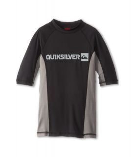 Quiksilver Kids Prime S/S Surf Shirt Boys Swimwear (Gray)