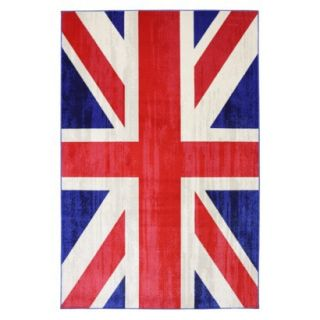 Mohawk Home Union Jack Area Rug   8x10