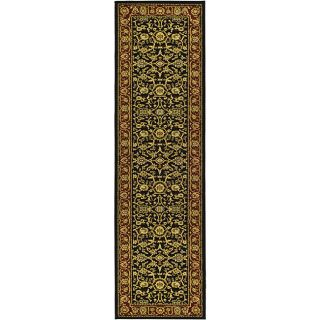 Lyndhurst Collection Majestic Black/ Red Runner (23 X 20)