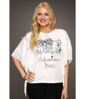House of the Gods Rolling Stones Exile on Main St. Top Womens T Shirt (White)
