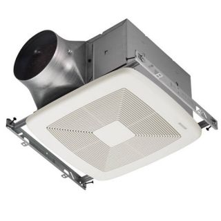 Broan XB110 Bathroom Fan, 110 CFM Single Speed ULTRA X1 Series amp; Energy Star Rated for 6 Duct