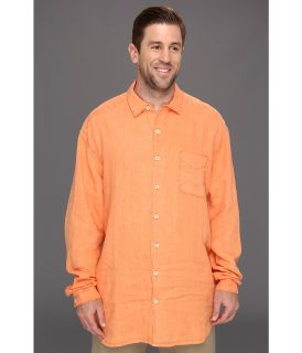 Tommy Bahama Big & Tall Big Tall Beachy Breezer L/S Shirt Mens Long Sleeve Button Up (Orange)