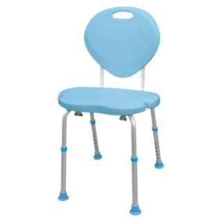 AquaSense Adjustable Bath and Shower Chair with Non Slip Comfort Seat and