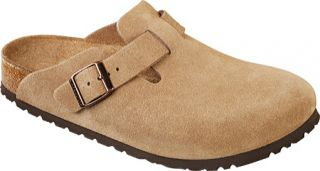 Birkenstock Boston Suede Soft Footbed   Jasper Suede Casual Shoes