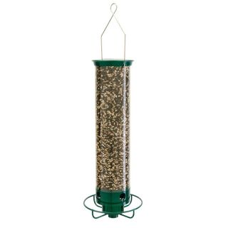 BFG Supply Co Droll Yankee Flipper Squirrel Proof Bird Feeder Multicolor