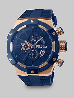 Brera Orologi Supersportivo Stainless Steel Watch   Blue