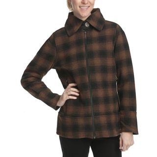 Woolrich Chatham Creek Plaid Jacket   Wool (For Women)   BRIDLE (M )