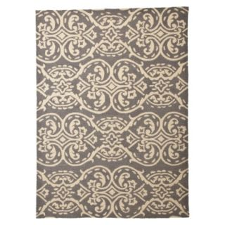 Threshold Geometric Hand Tufted Indoor/Outdoor Area Rug   7x10