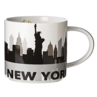 Room Essentials New York City Skyline Ceramic Coffee Mug Set of 2
