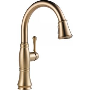 Delta Faucet 9197 CZ DST Cassidy Single Handle Pull Down Kitchen Faucet