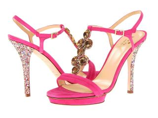 Kate Spade New York Velvet Womens Dress Sandals (Pink)
