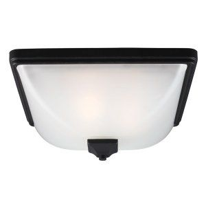 Sea Gull Lighting SEA 7828403 12 Irving Park Three Light Outdoor Ceiling Flush M