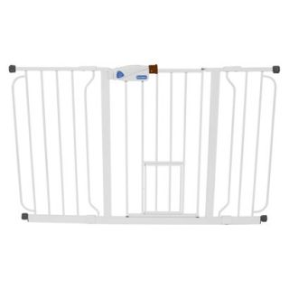 Carlson Pet Products Extra Tall Walk Thru Gate   White (41)