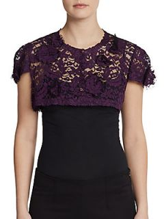 Lace Cap Sleeve Shrug   Vine