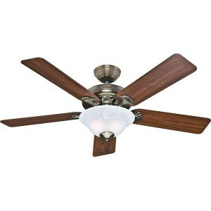 Hunter HUF 53110 The Brookline Large Room Ceiling Fan with light