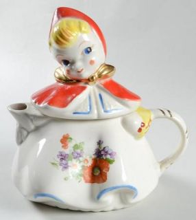 Hull Little Red Riding Hood Teapot & Lid, Fine China Dinnerware   Pottery, Flora