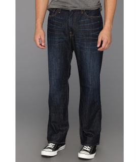 Lucky Brand 181 Relaxed Straight 30 in Dark Dickson Mens Jeans (Black)