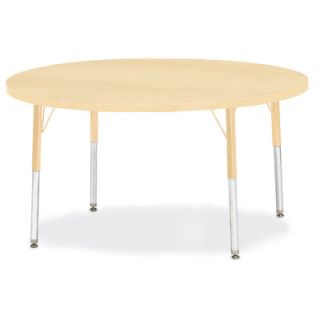 Jonti Craft Berries Round Activity Table (48 x 48) 6433JC251 Size 31 H x