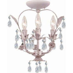 Crystorama Lighting CRY 5823 BH CEILING Paris Flea Market Paris Flea Market 3 Li