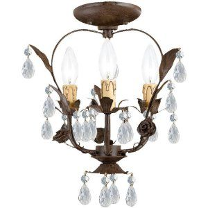 Crystorama Lighting CRY 5823 DR CEILING Paris Flea Market Paris Flea Market 3 Li