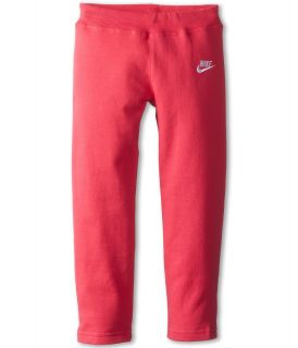 Nike Kids Skinny Fleece Pant Girls Fleece (Pink)