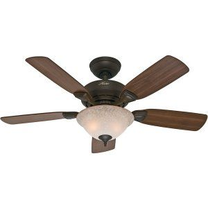 Hunter HUF 52082 Caraway Traditional Ceiling Fan with light