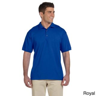 Gildan Mens Ultra Cotton Jersey Polo Shirt