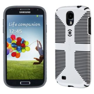 Speck CandyShell Grip Cell Phone Case for Samsung Galaxy SIV   Black/White (SPK