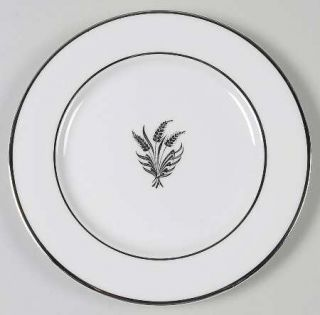 Royal Jackson Silver Wheat White  Bread & Butter Plate, Fine China Dinnerware