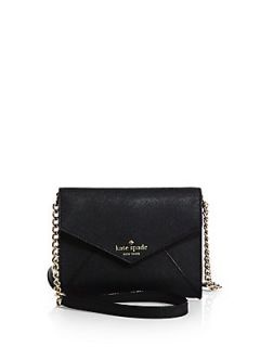 Kate Spade New York Cedar Street Monday Crossbody Bag   Black