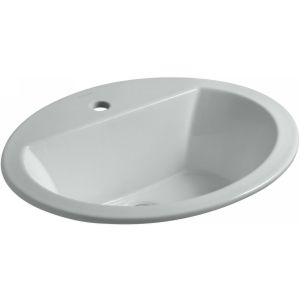 Kohler K 2699 1 95 Bryant Bryant® Oval Drop In Bathroom Sink with Single Faucet