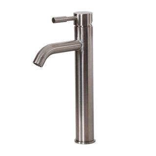 Elite F371023sn Satin Nickel Single handle Bathroom Faucet