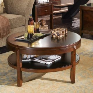 American Drew Tribecca Round Coffee Table Multicolor   912 913