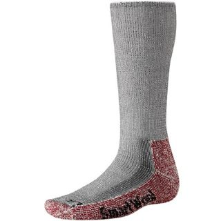 SmartWool Mountaineer Hiking Socks (For Men and Women)   GREY/CRIMSON (S )