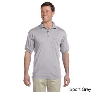 Gildan Mens Dry Blend Jersey Polo Shirt